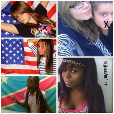 Anais,Loreine,christel,Liniiy-B and Mee