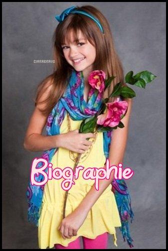 Biographie de la chére Ciara ;)