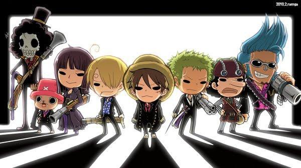 Les mini Mugiwara !! :)
