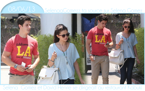 Selena and David Henrie