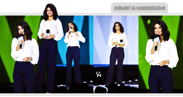Selena aux We Day !