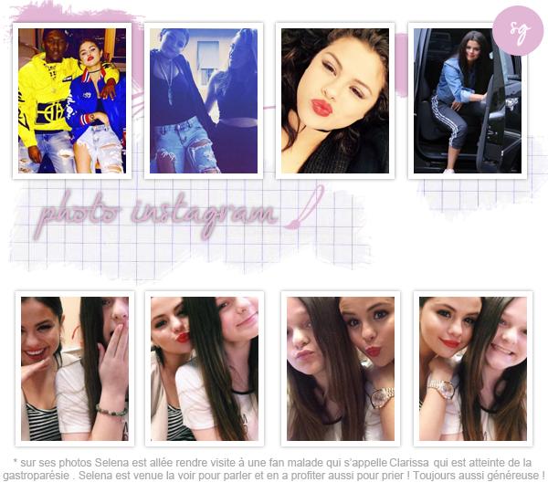 Selena et Clarissa une magnifique fan !