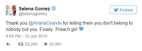 Ariana Grande !