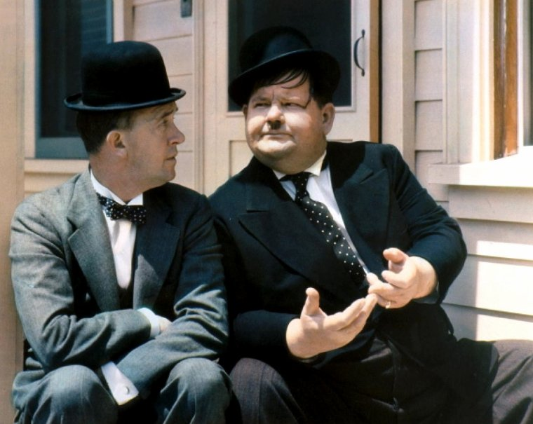 Laurel and Hardy (Stan LAUREL and Oliver HARDY)