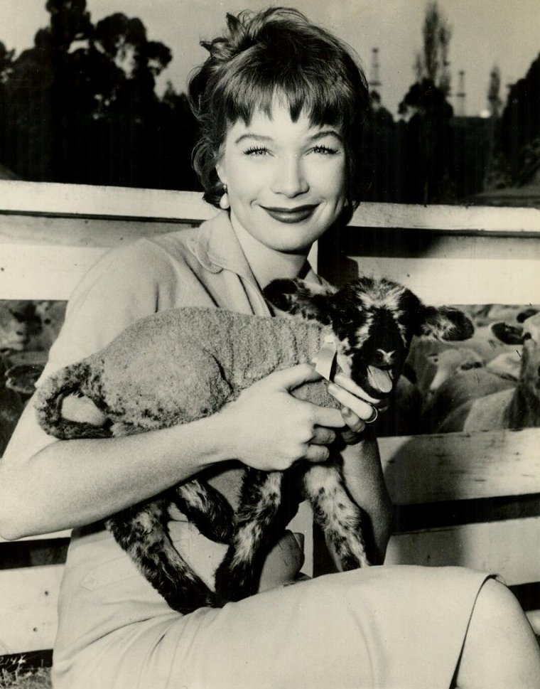 "Shirley MacLAINE (Born : Shirley MacLEAN BEATY,  April 24, 1934 in Richmond, Virginia, USA)  Height : 5' 7"" (1,70 m)"