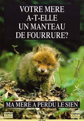 Anti fourrure!!