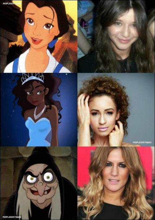 .  PEOPLESCRITIQUES ; Au fond les petites amies des One Direction ont leur côté Disney aussi .
