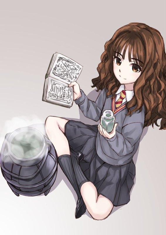Et si Harry Potter était un Animé?