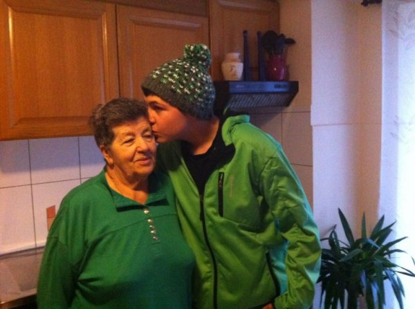 Ma grand maman je l aime plus que tout au monde