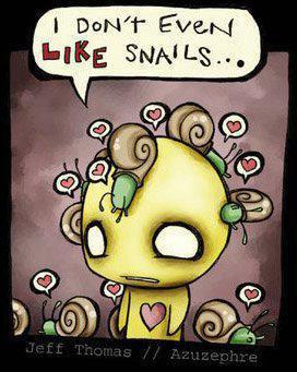 Chapitre #6 - Les escargots