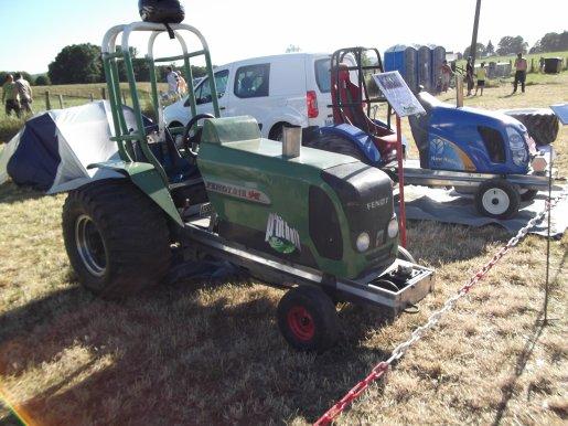 A Lubersac au tracteur pulling