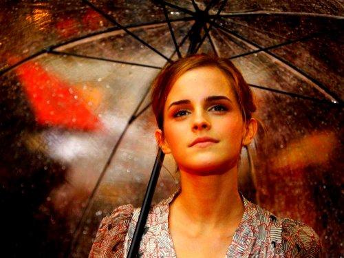 Emma Watson alias Hermione Granger.