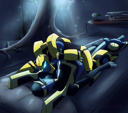 OS Transformers Animated : Un rêve de Ninja