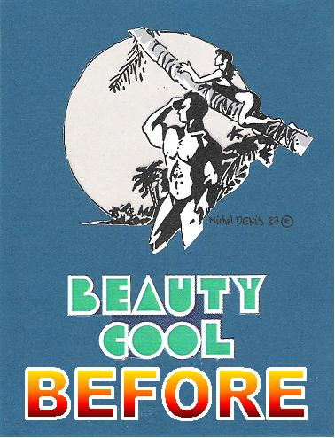 Beauty cool Before