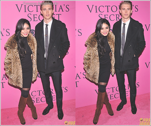 7 novembre 2012  : Vaness' et Austin étaient au « Victoria's Secret Fashion Show » à New York.