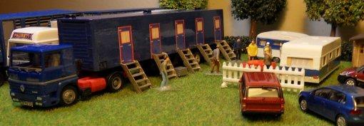Habitation monteurs : la crémaillère