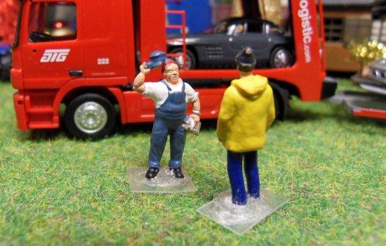 Albert Gouvion et ses camions !