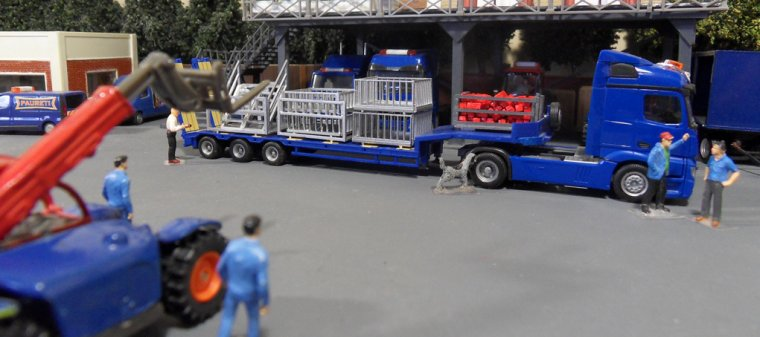 Convois parade, chargement