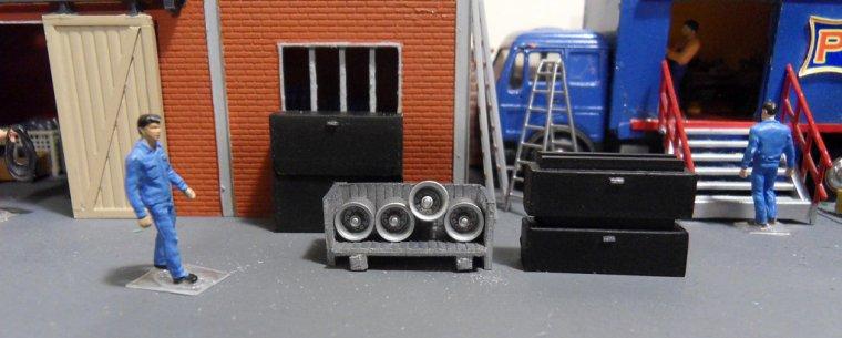 Convoi habitation des musiciens, la remorque logement 06