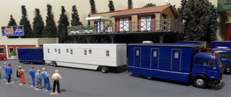 Convoi habitation des musiciens, la remorque logement 09