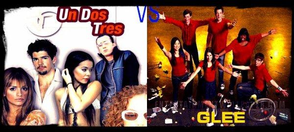 Un dos tres VS Glee