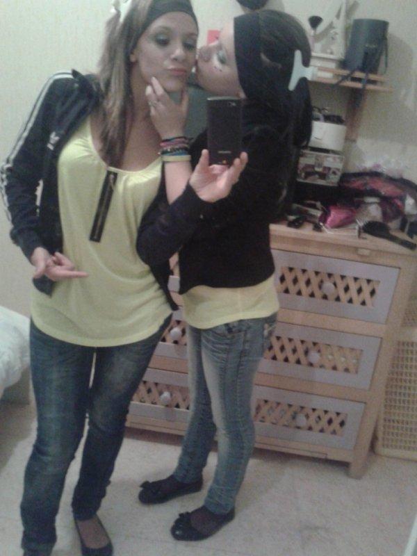 Stacy & sa meilleure amie .. ♥ .