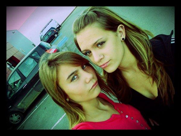 Moi & Zélia. ♥