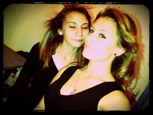 Moi et Zélia. <3