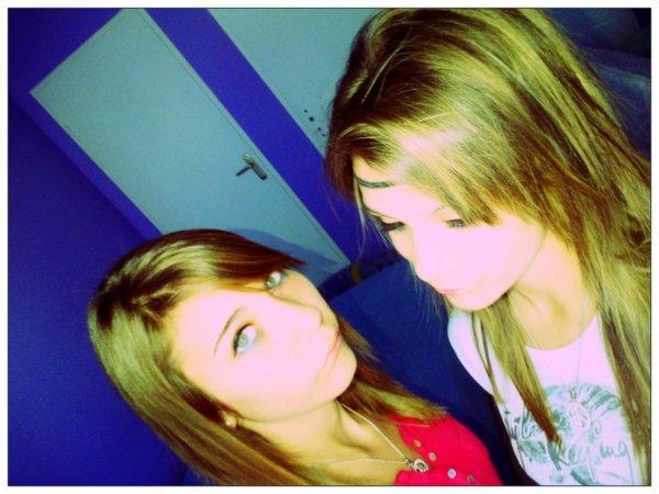 Zélia et moi .. ♥