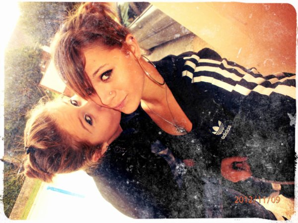 Moi & Laurine. ♥