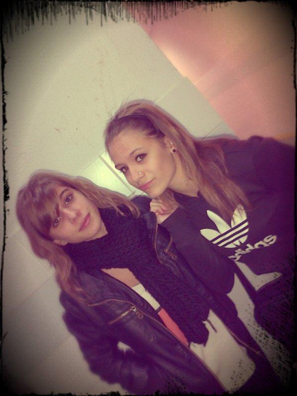 Moi et Charlotte. ♥