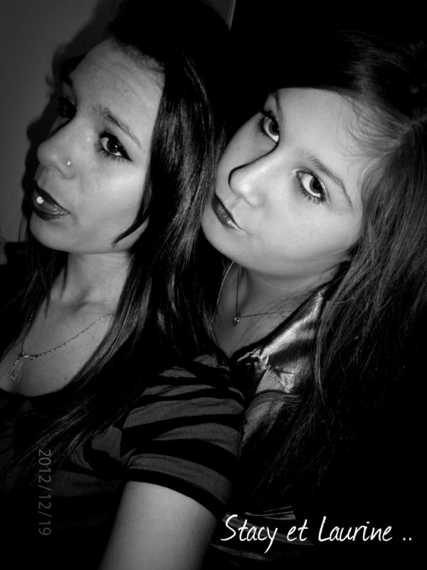 Stacy & Laurine.