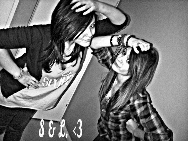 Ma Meilleure amie & moi ♥ .