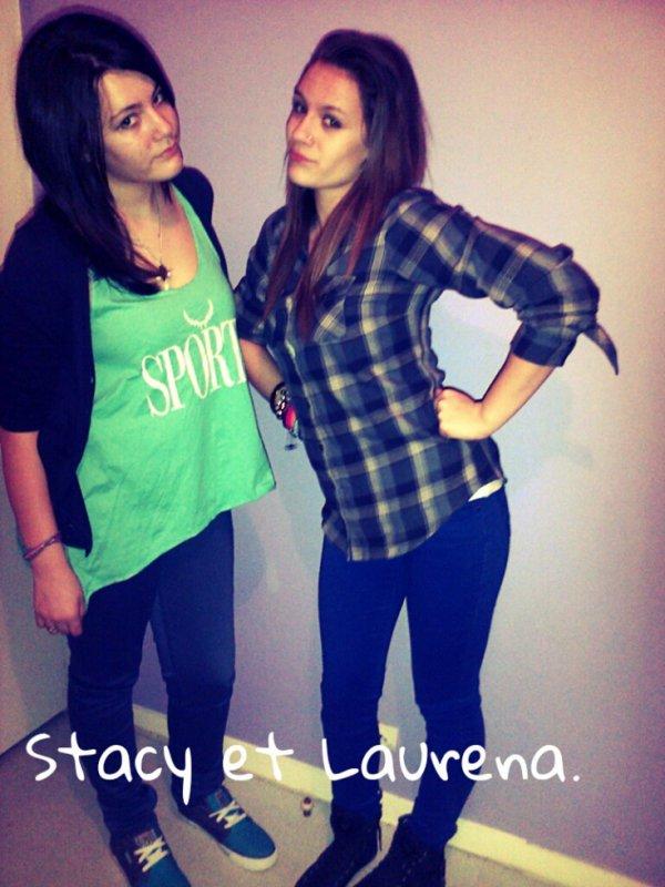 Stacy et sa meilleure amie ..