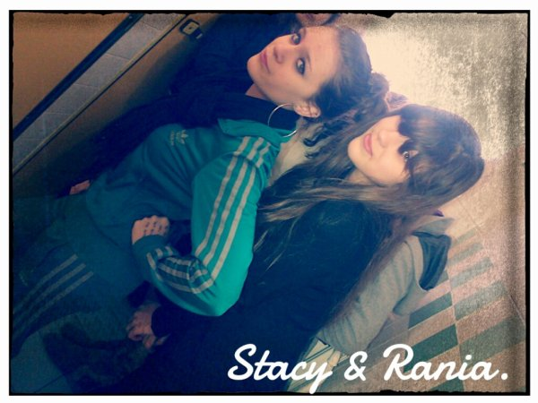 Stacy & Rania.
