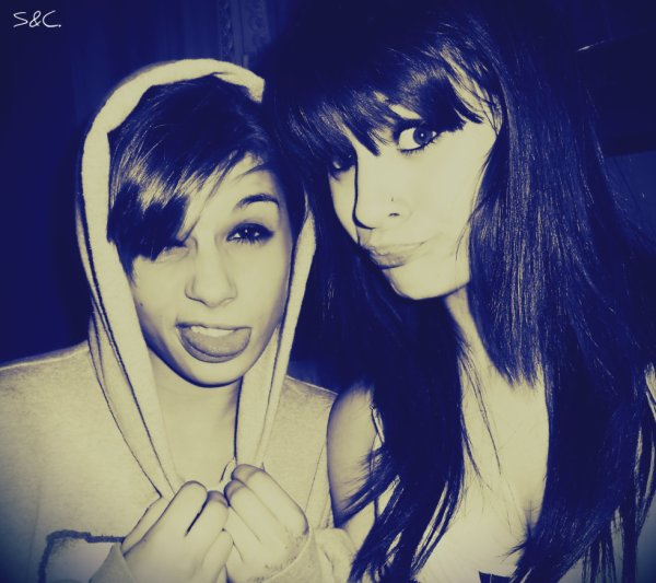 Stacy & Charlotte. ♥