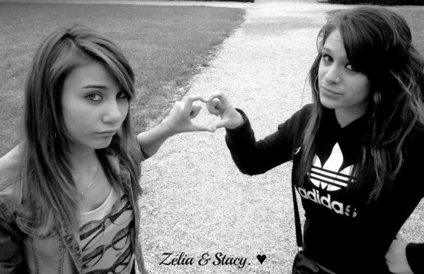 Stacy & Zélia. ♥