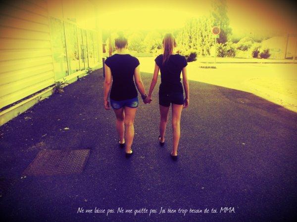 Moi & Ma Meilleure amie. ♥
