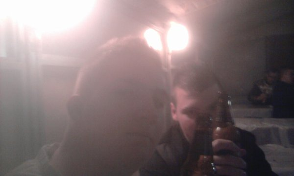 Avec un ami au carnaval de Bambiberstroff Aller hop !
