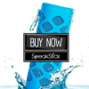 Waterproof Bluetooth Speaker With 5600mah Power Bank SpeakStick Prime.Blue