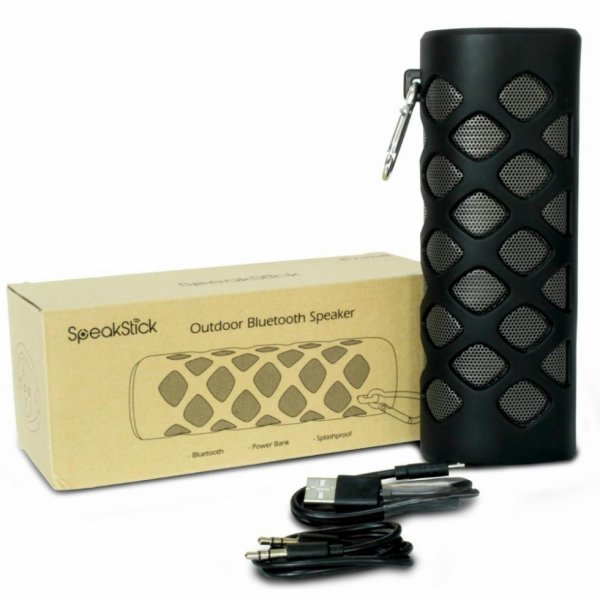 SpeakStick - Prime Black -Bluetooth Shower Speakers