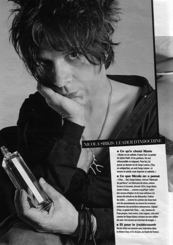 """""""Si demain dans ta rue ou si demain dans ta ville, on te montre du doigt parce que t'as les cheveux comme ça ou parce que tu t'habilles comme ça dit leur, dit leur que ce sont des pervers !""""  Nicola Sirkis ♥"""
