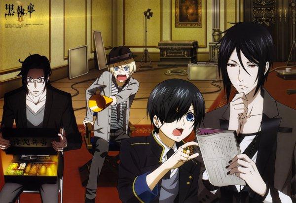 Kuroshitsuji /  (Black Butler = Majordome Noir )