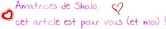 ♥ ♥ Les scènes de Shôjo ♥ ♥