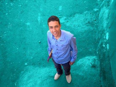 J'aime la couleur bleue...:)