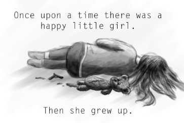 Je suis une bouteille de souffrance