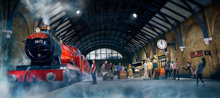 Universal Studios Harry Potter de Londres me voilà !!!
