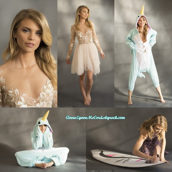 •SHOOT – 2016 : AnnaLynne pose lors du projet Starving Artists !