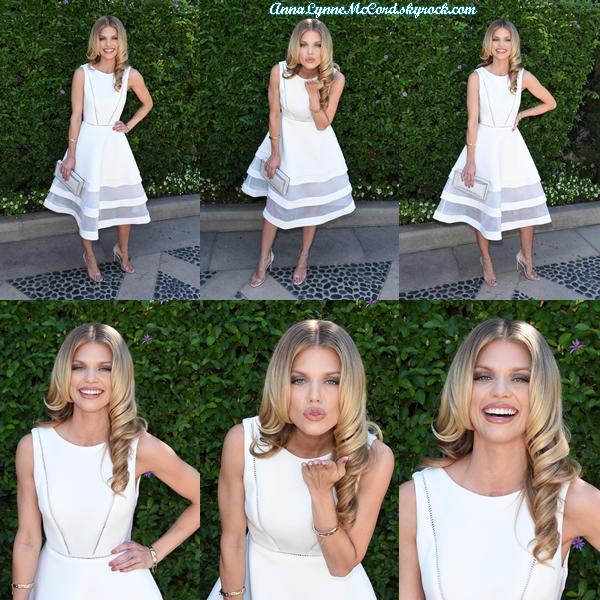 25/09/16 : AnnaLynne assistait au Brunch annuel de la  fondation du viol  dans une résidence privée à Beverly Hills.