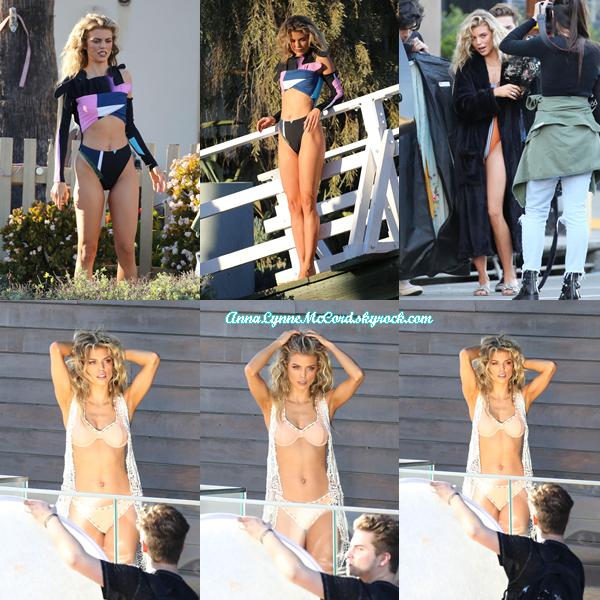 19/02/18 : AnnaLynne était sur le tournage d'un  photoshoot  à Los Angeles.  Anna est juste splendide, j'ai hâte de voir ce que le shoot va donner !